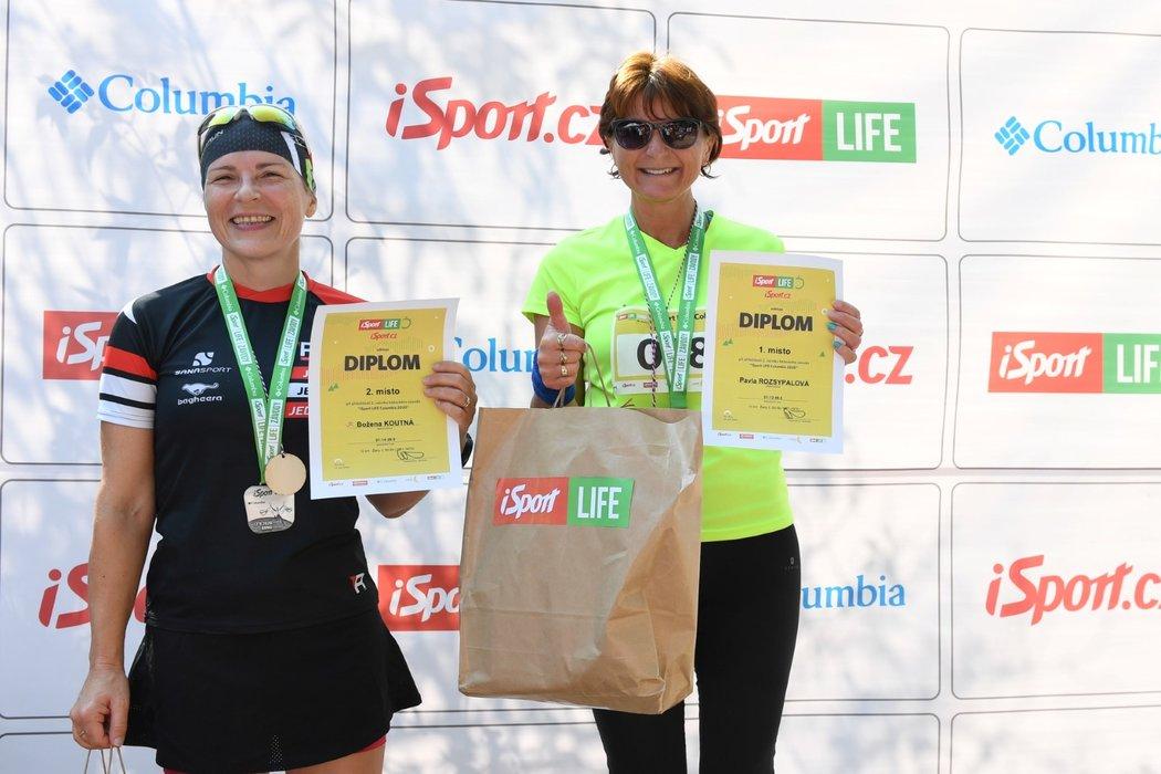 Úspěšní běžci iSport LIFE Columbia závodu v brněnské zoo...