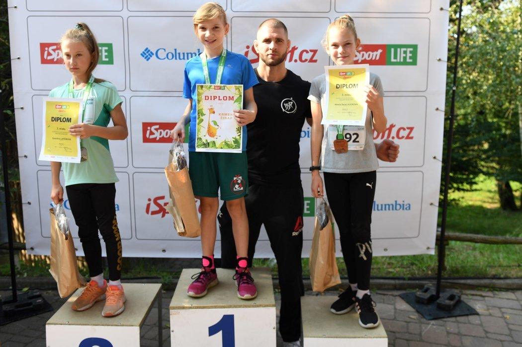 Vítězové iSport LIFE Columbia závodů a Jiří Denisa Procházka