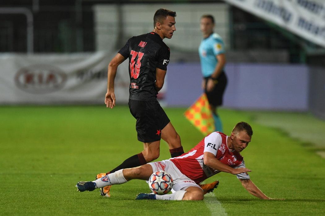 Petar Musa po pár minutách na hřišti vyrovnal na 1:1