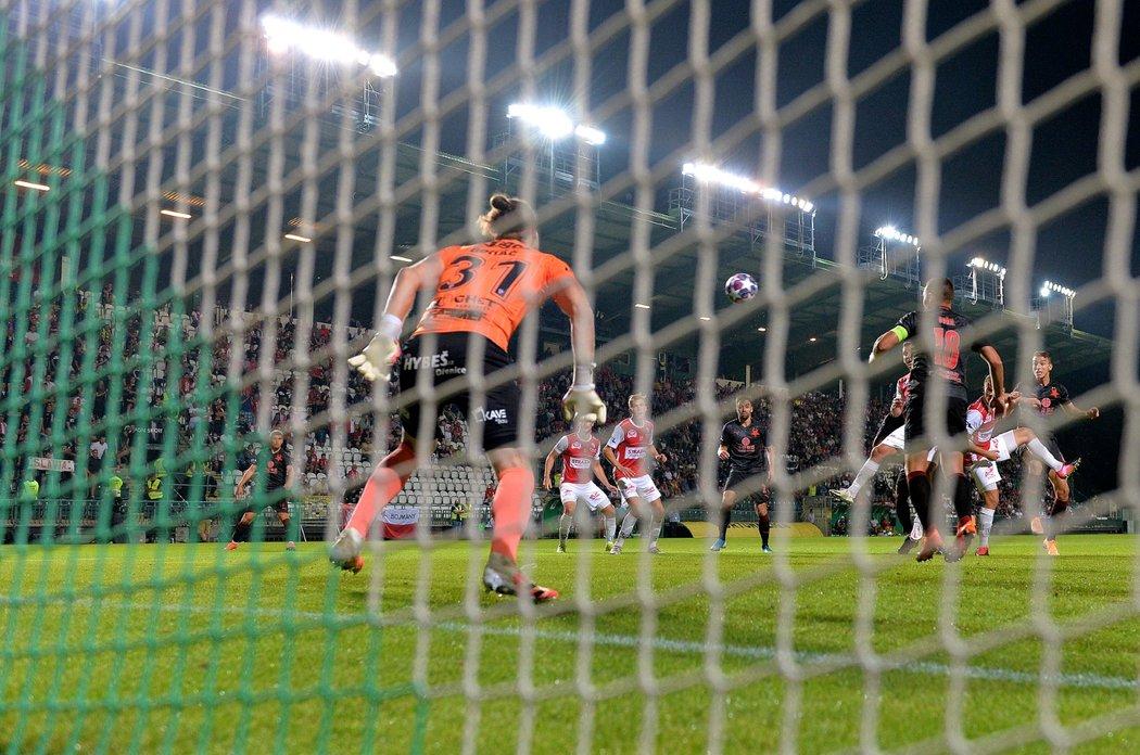 Petar Musa srovnává souboj Slavie s Pardubicemi na 1:1