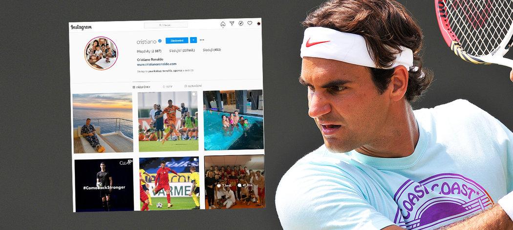Roger Federer a Cristiano Ronaldo - jak získávají peníze dva nejlépe vydělávající sportovci na světě?