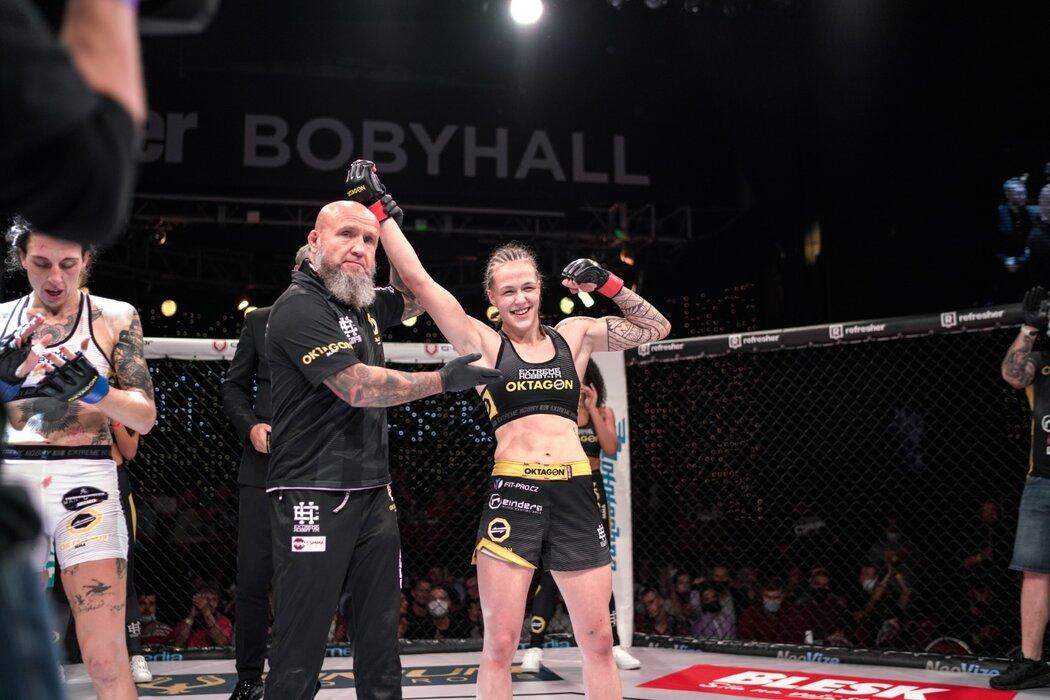 Tereza Bledá porazila Marii Loiseauovou ve 2. kole TKO