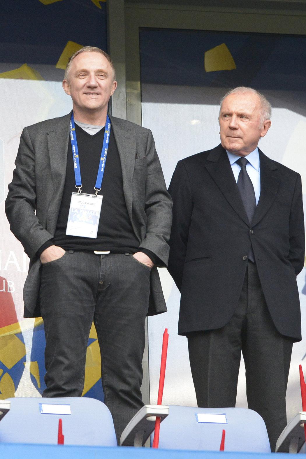 François Pinault a jeho syn François-Henri Pinault
