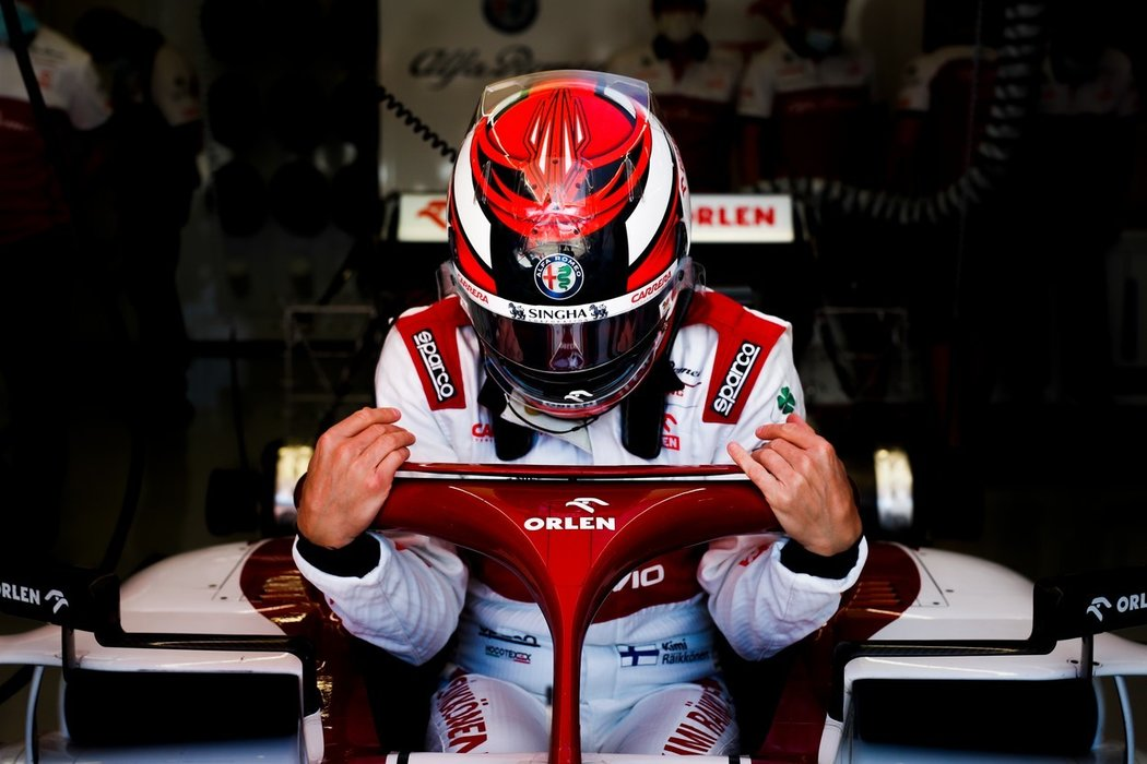 Kimi Räikkönen nasedá do formule 1 Alfy Romeo