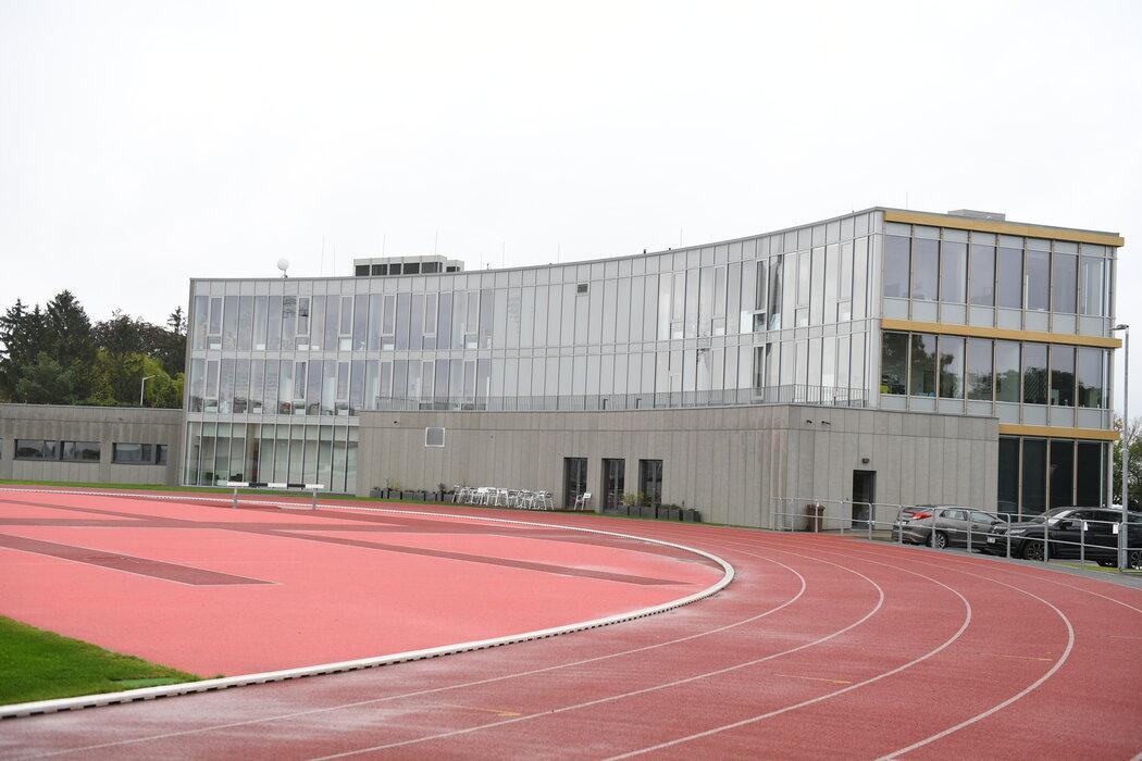 Strahovské sídlo FAČR, ve kterém proběhla policejní razie