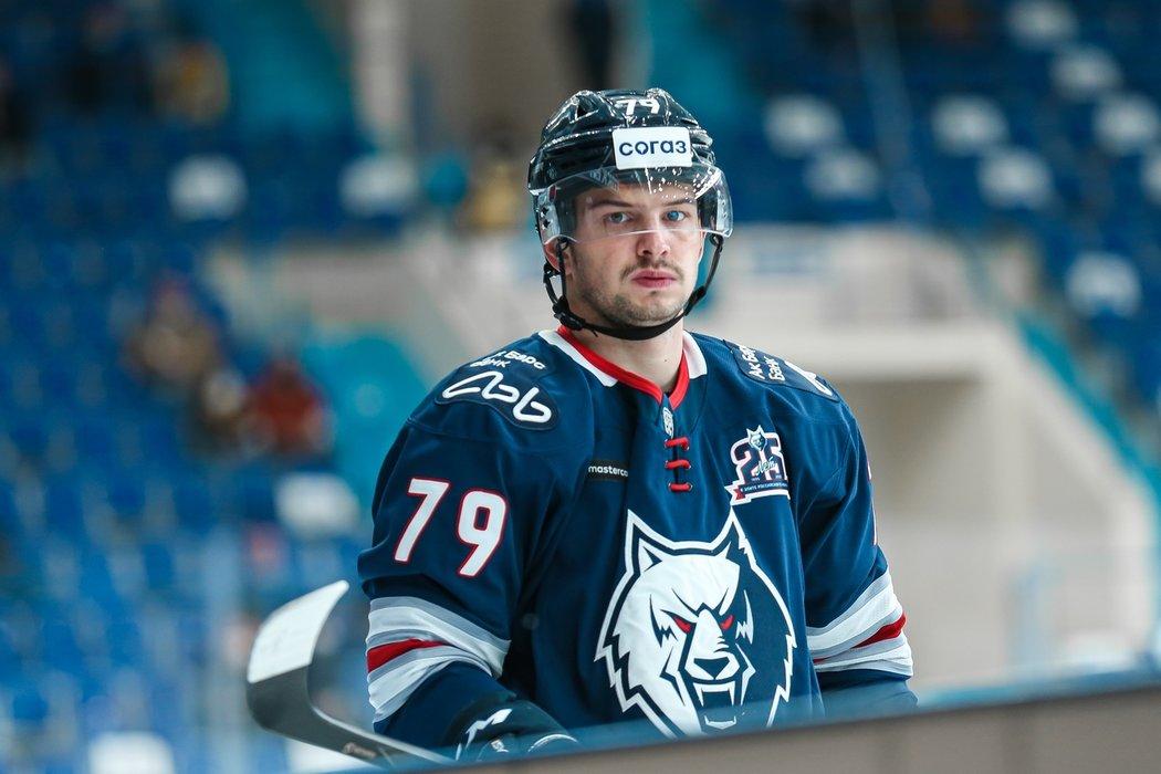 Libor Hudáček si v osmi zápasech za Nižněkamsk připsal pět bodů