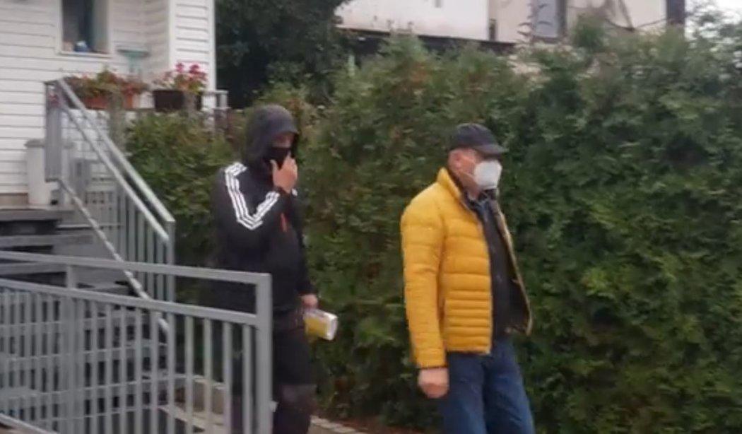 Takhle vypadalo dnešní zatýkání Romana Berbra (Zdroj: sport.cz)