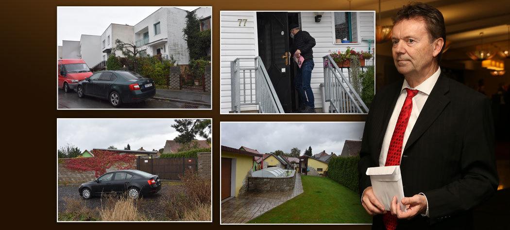 Policisté v civilu navštívili kancelář, dům i chatu Romana Berbra.