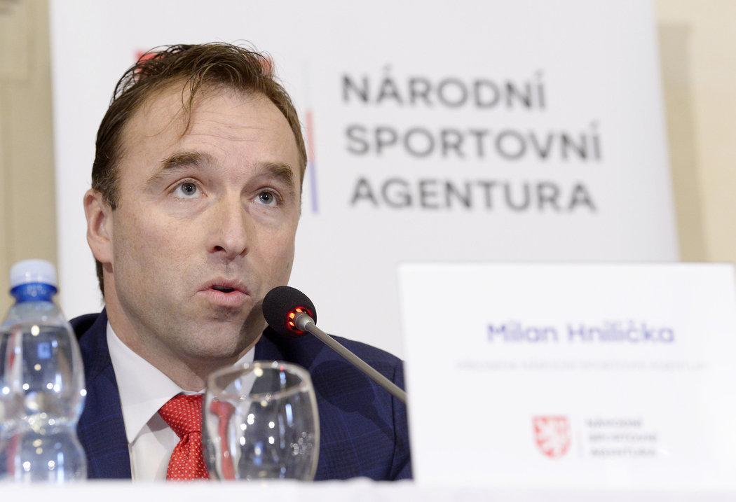 Šéf Národní sportovní agentury Milan Hnilička