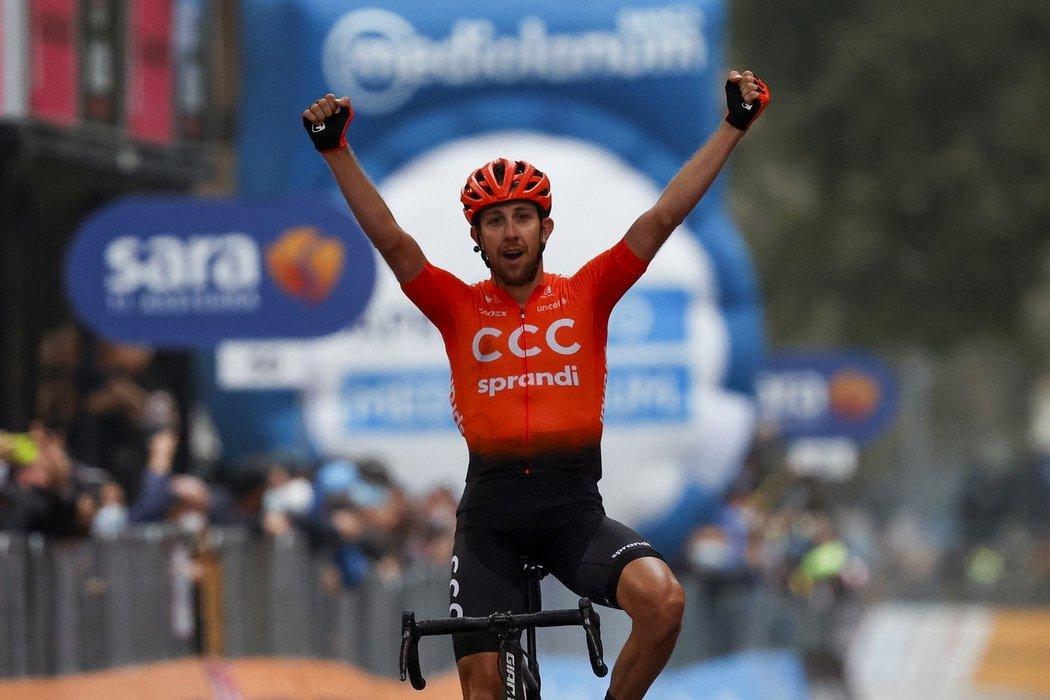 Josef Černý vyhrál etapu Gira