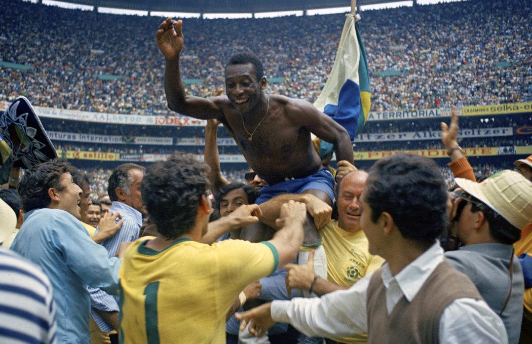 Miluje ho celá Brazílie! Pelé je fotbalovou ikonou.