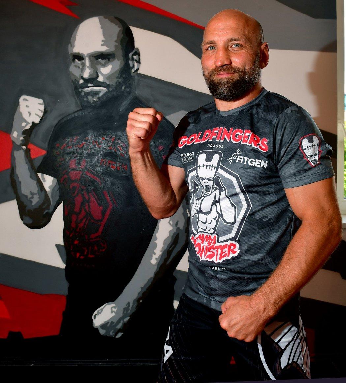 """MMA zápasník a trenér Petr """"Monster"""" Kníže"""