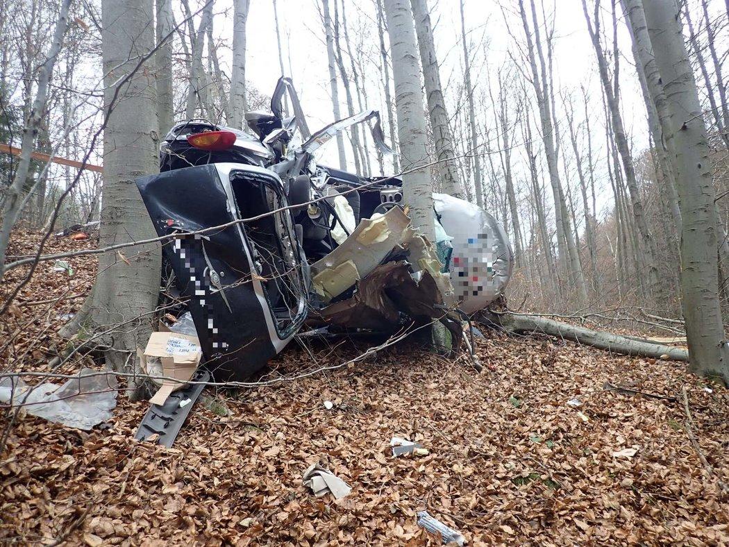 Tragická nehoda na Vsetínsku.