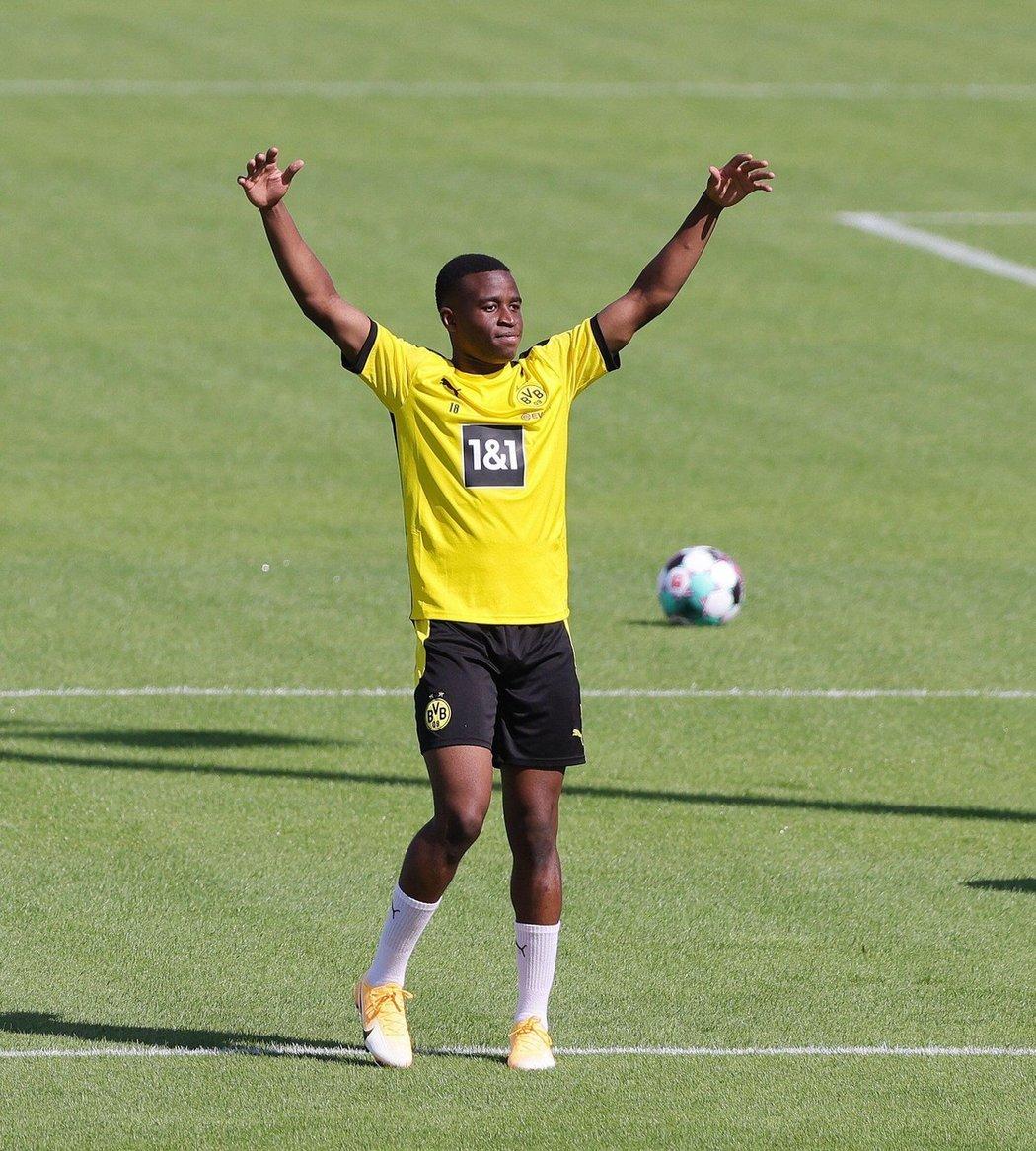 Mladíček Youssoufa Moukoko patří mezi největší talenty bundesligy