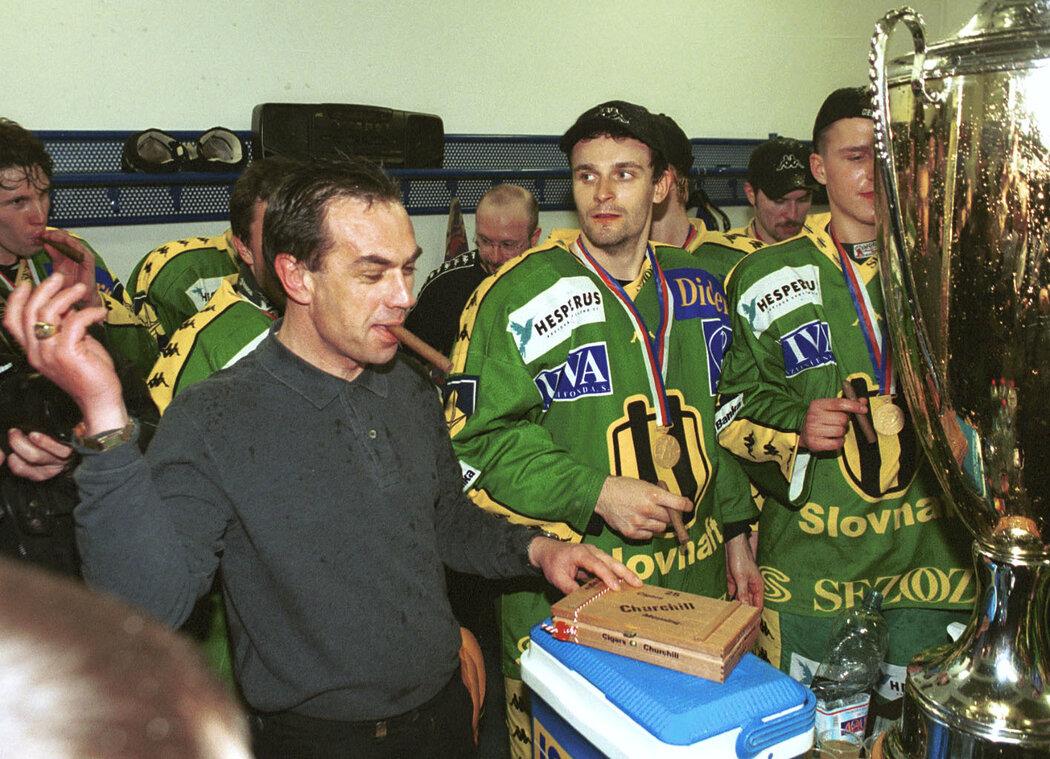 Vsetín vyhrál na přelomu tisíciletí šest titulů republikového šampiona