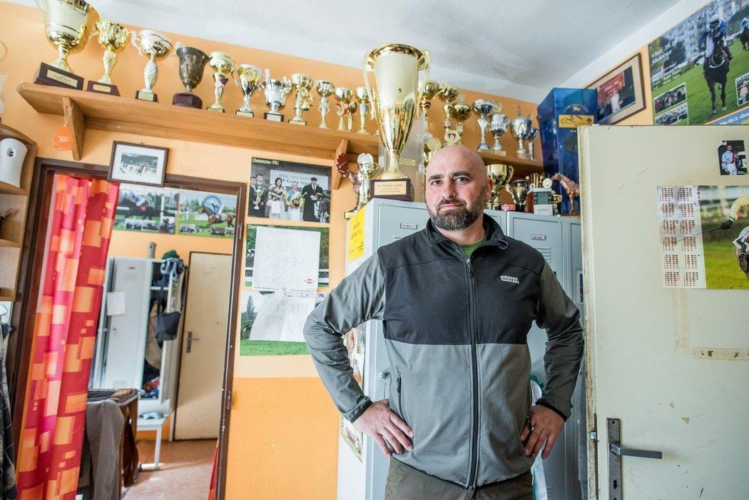 Radek Holčák je je mezi dostihovými trenéry nastupující generace jedničkou