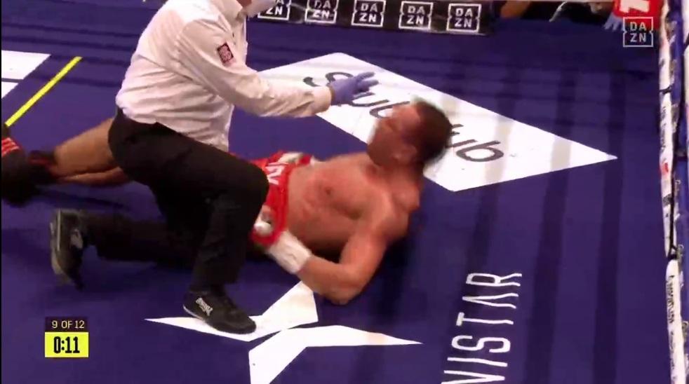 Anthony Joshua knockoutoval Kubrata Puleva v devátém kole!