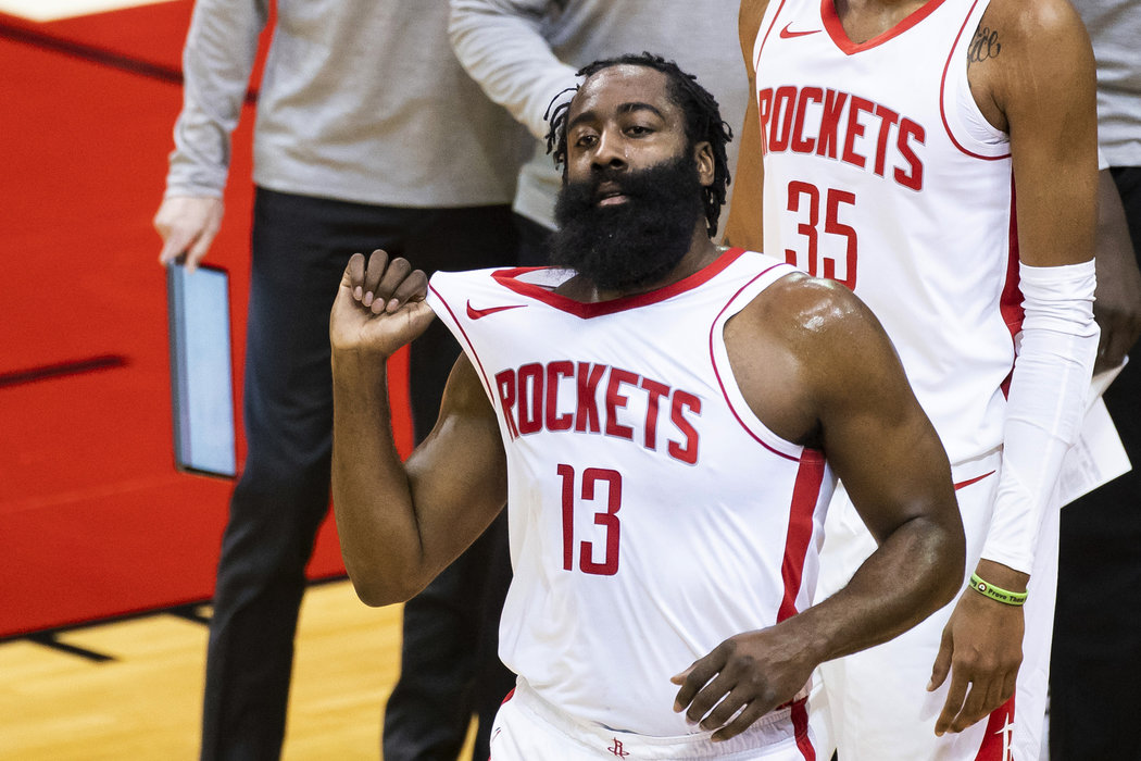 Americký basketbalista James Harden