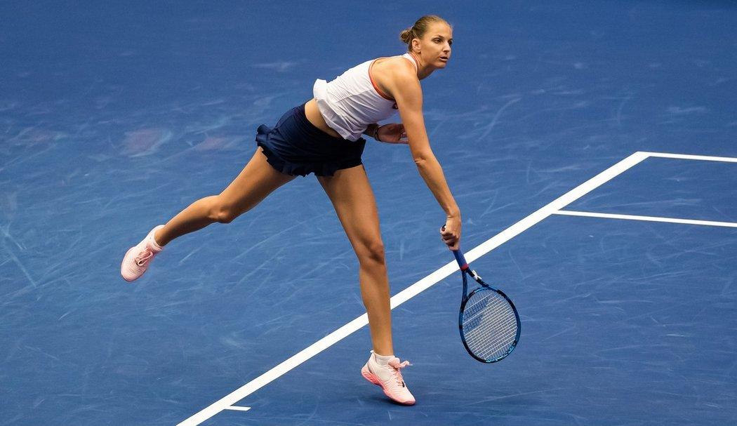 Karolína Plíšková na J&T Banka Open