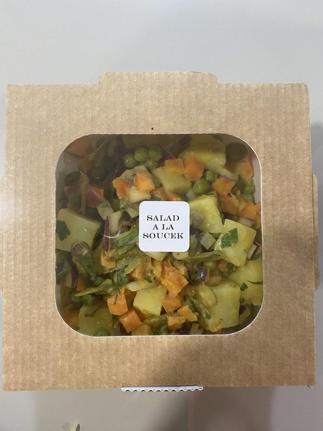 Na Tomáše Součka čekalo v jídelně West Hamu překvapení v podobě bramborového salátu