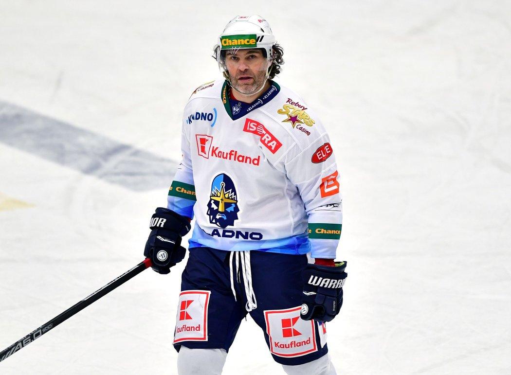 Jaromír Jágr ve svém druhém utkání v sezoně nebodoval