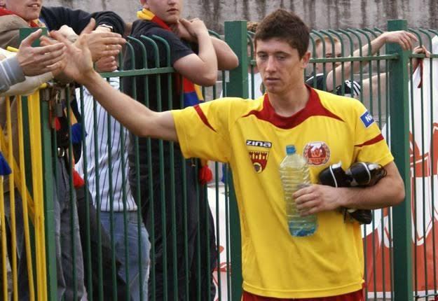 Lewandowski hrál za Znicz Pruszkow