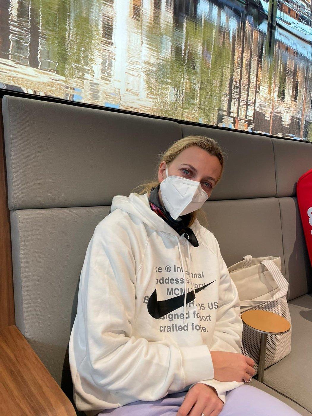 Petra Kvitová před odletem na Australian Open