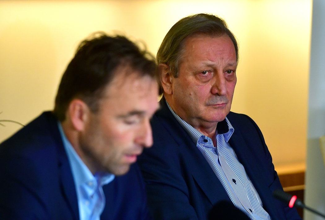 Milan Hnilička a Alexander Karolyi