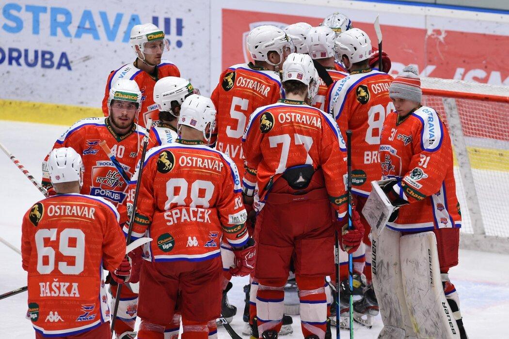 Hokejisté Poruby smutní po vyřazení v semifinále play off první ligy