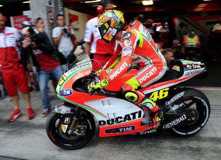 Hvězdný Valentino Rossi vyráží na brněnský okruh