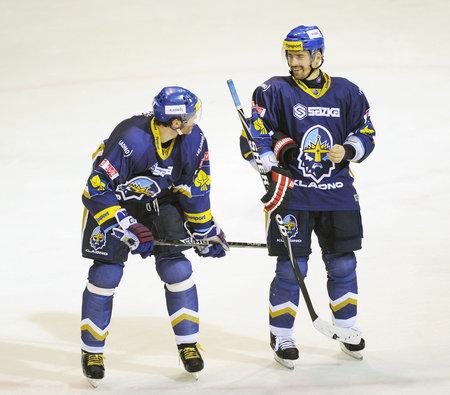 Jaromír Jágr se po boku Tomáše Plekance hokejem na Kladně bavil