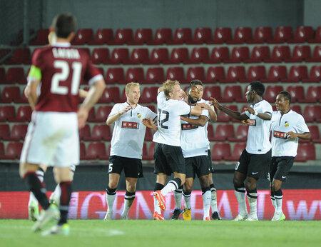 Fotbalisté Häckenu mohli mít radost, na půdě Sparty uhráli nečekanou remízu 2:2