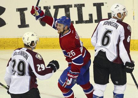 Jiří Sekáč byl na ledě u dvou vstřelených branek Canadiens.
