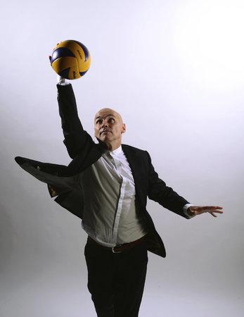 Bývalý kouč reprezentace a současný šéf Českého volejbalového svazu Zdeněk Haník