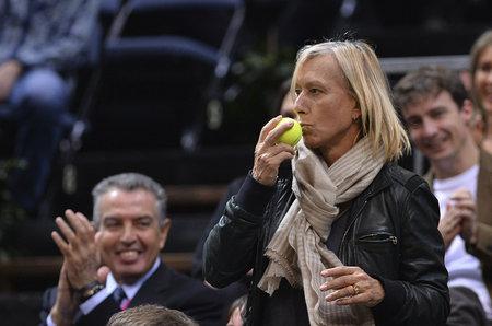 Česká tenisová legenda Martina Navrátilová