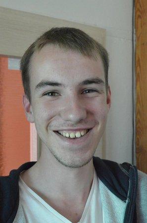 Michal Lávička (18), student, Jamné