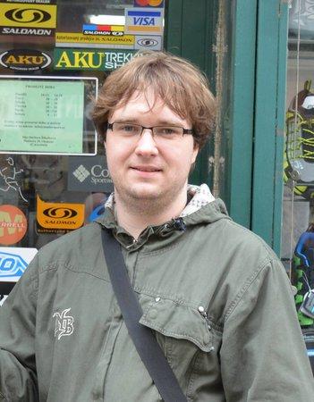 Lukáš Procházka (34), specialista prodeje, Olomouc