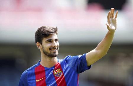 André Gomes v dresu Barcelony