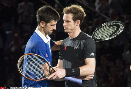 Andy Murray má blízko k tomu, aby Djokoviče vystřídal na místě světové jedničky