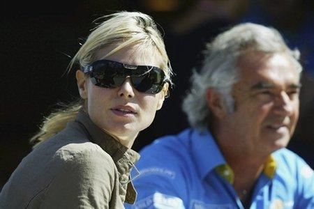 Flavio Briatore společně s Heidi Klum