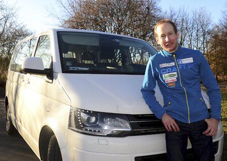 Bývalý český lyžař Lukáš Bauer si ve sportovním důchodu rád vyjede na kole