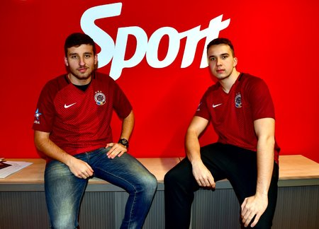 Richard Růžička (MrRici) a Jan Hradil (TheJohny) budou na finále CZC.cz iSportCupu reprezentovat nejen sebe, ale i pražskou Spartu