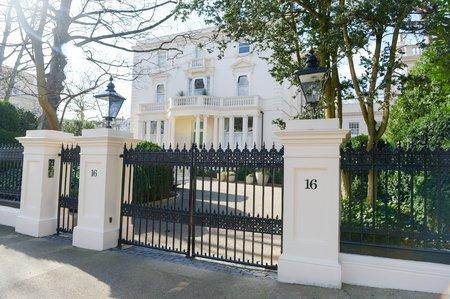 Londýnská nemovitos ruského boháče