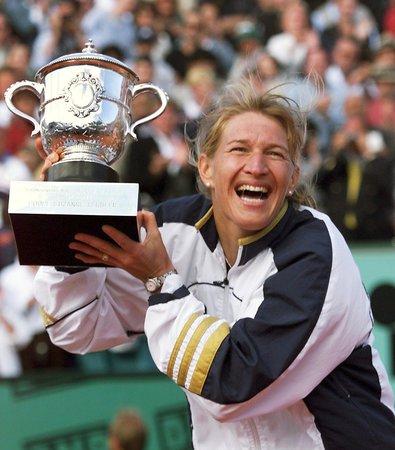 Legendární německá tenistka Steffi Grafová