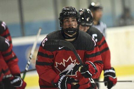 Kanadský útočník Hendrix Lapierre patřil na posledním Hlinka Gretzky Cupu mezi největší hvězdy