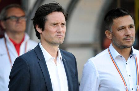 Sportovní ředitel fotbalové Sparty Tomáš Rosický