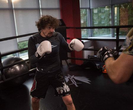 Zkušený trenér MMA Daniel Barták