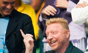 Legenda německého tenisu Boris Becker