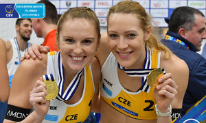 Beachvolejbalistky Kristýna Kolocová s Michalou Kvapilovou vyhrály European Masters.