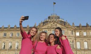 České tenistky převálcovaly Němky! Na fedcupový banket oblékli růžovou.